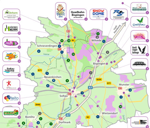 Erlebniswelt Karte